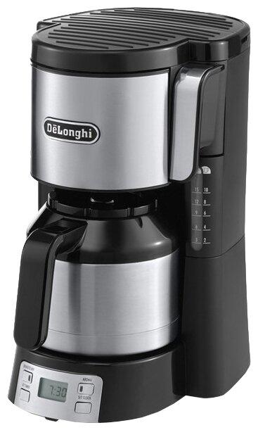 DeLonghi ICM 15750, Metall капельная кофеварка