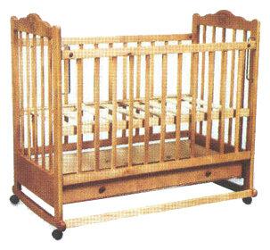 Кроватка Наша мама Соня (с ящиком)