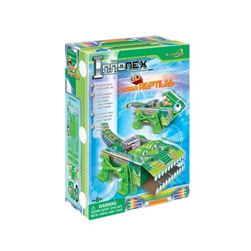 Купить Электромеханический конструктор Amazing Toys Innonex 37602 Кибер рептилия, Конструкторы