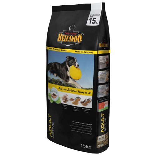 Корм для собак Belcando (15 кг) Adult Active для активных собак средних и крупных пород