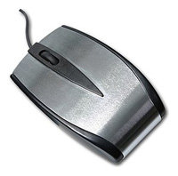Мышь SPEEDLINK Metal Mouse SL-6178 Metallic USB+PS/2