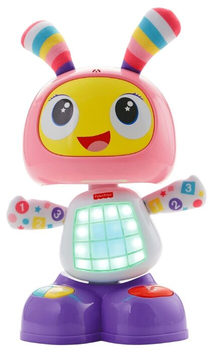 Интерактивная развивающая игрушка Fisher-Price Веселые ритмы. Бибель (FBC98)