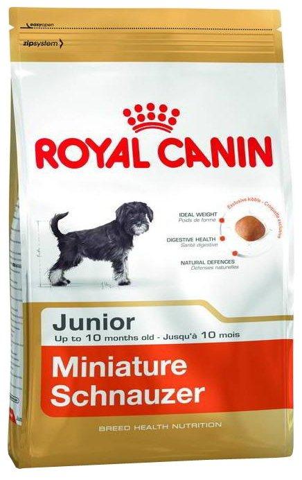 Корм для щенков Royal Canin цвергшнауцер для профилактики МКБ (для мелких пород)