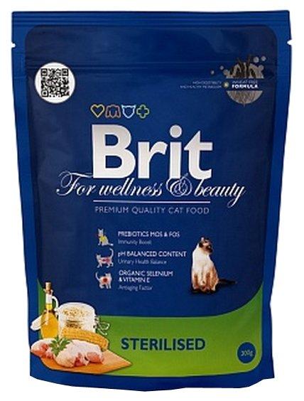 Сухой корм Brit Premium Sterilised dry (1.5 кг)