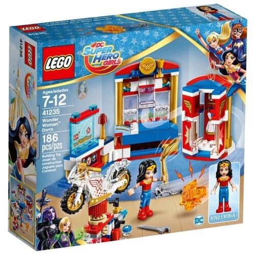 Конструктор LEGO DC Super Hero Girls 41235 Комната Чудо-женщины dc super hero girls harley quinn's spooky sticker activity book