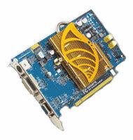GIGABYTE Видеокарта GIGABYTE GeForce 6600 GT 500Mhz PCI-E 128Mb 1000Mhz 128 bit DVI VIVO YPrPb