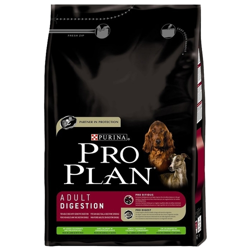 Корм для собак Purina Pro Plan Adult Digestion сanine Lamb with Rice dry (12 кг)