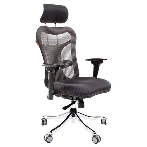 chairman 769 черный хром Компьютерное кресло Chairman 769, обивка: текстиль, цвет: TW11 черный