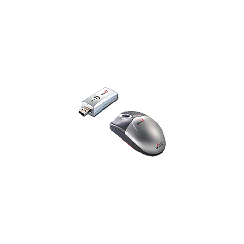 Мышь Genius Wireless WebScroll+ NBEye Grey USB
