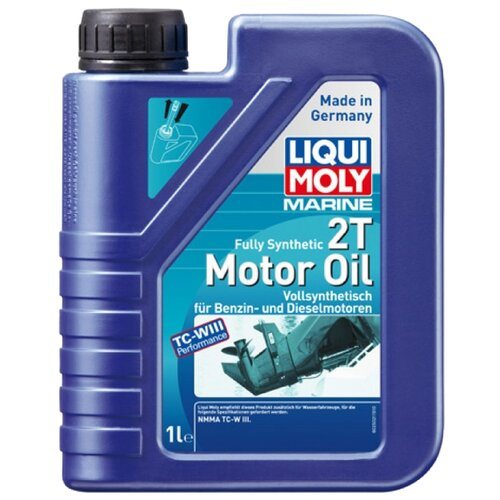 Моторное масло LIQUI MOLY Marine Fully Synthetic 2T 1 л