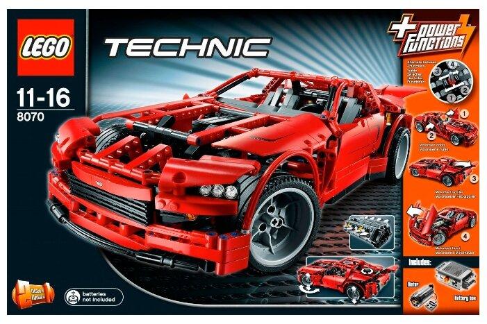 Электромеханический конструктор LEGO Technic 8070 Суперавтомобиль