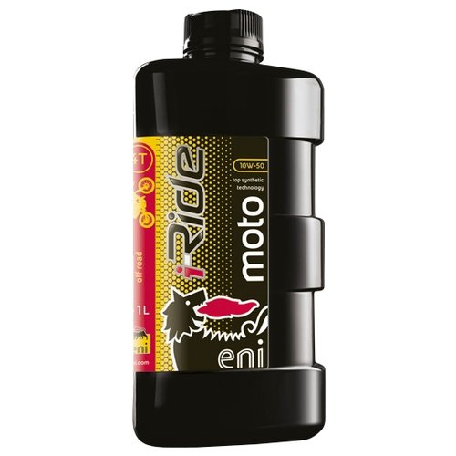 Моторное масло Eni/Agip i-Ride moto 10w-50 1 л вилочное масло eni fork 10w 1 л