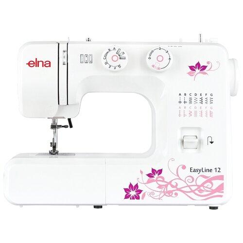 Швейная машина Elna EasyLine 12, белый швейная машина elna excellence 680