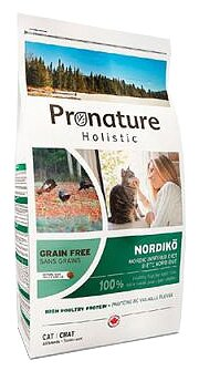 ProNature Северная диета с индейкой и чечевицей для кошек (2 кг)