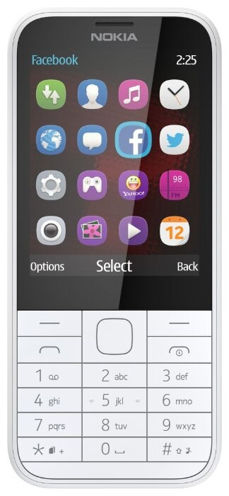 Nokia 225 Dual SIM (черный)