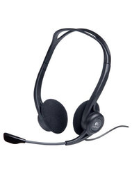 Logitech PC Headset 960 USB OEM 981-000100 - фото 1