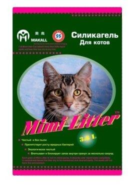 Наполнитель Mimi Litter Силикагель Для котов (3.6 л)
