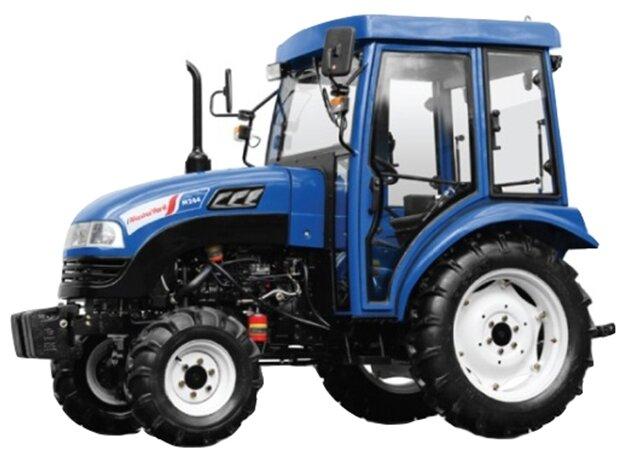 Мини-трактор MasterYard M244 4WD (с кабиной)
