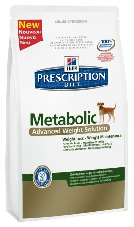 Hill's Prescription Diet Metabolic Canine Original dry (4 кг)