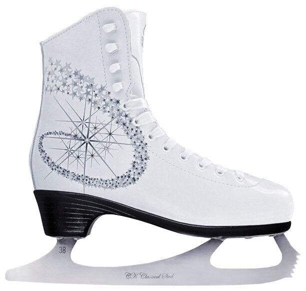 Женские коньки СК (Спортивная коллекция) Princess Lux 100% Leather (взрослые)