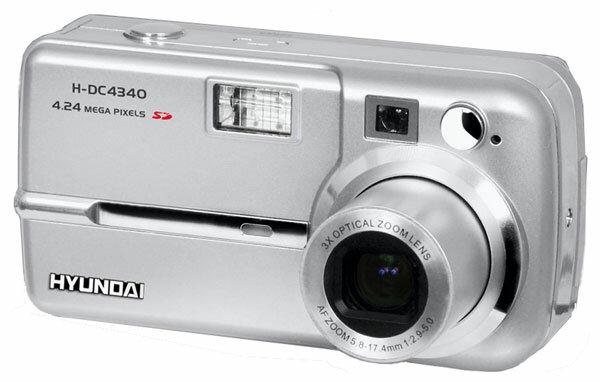 Фотоаппарат Hyundai H-DC4340