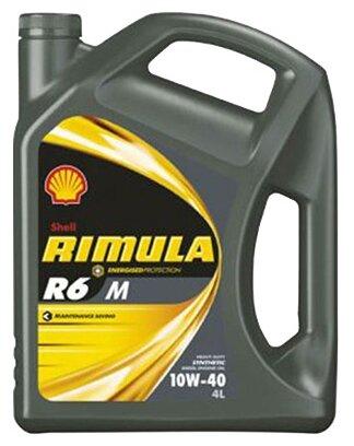 Моторное масло SHELL Rimula R6 M 10W-40 4 л