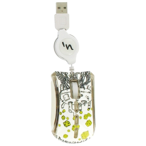 Мышь T'nB GUPPY VIP CHEESE White USB