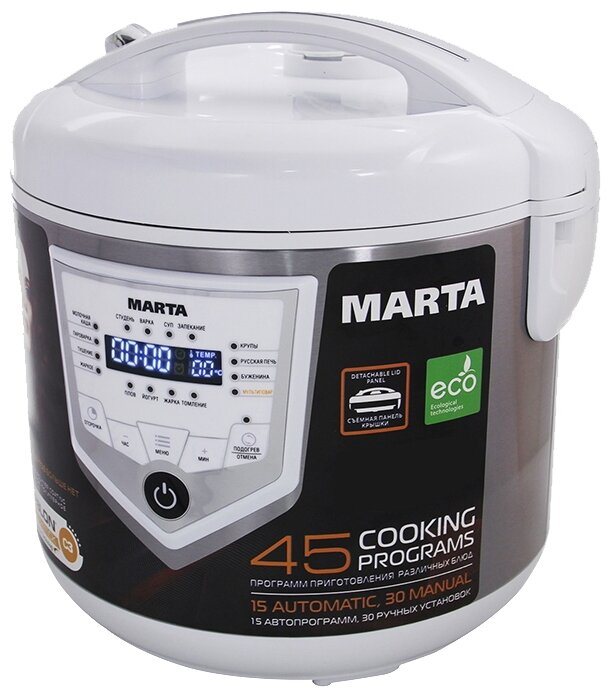 Marta MT-4300, Black Steel мультиварка