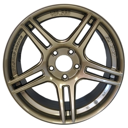 Колесный диск Cosmis Racing Wheels S5R 9x17/5x114.3 D73.1 ET22 Bronze