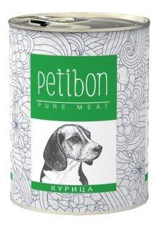 Корм для собак Petibon 100% meat Курица для собак (0.34 кг) 1 шт.