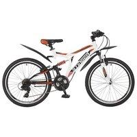 """Велосипеды для подростков STINGER 24SFV.HILAND2.16WH7 24"""" HIGHLANDER 200V 16,5"""" белый 1173"""
