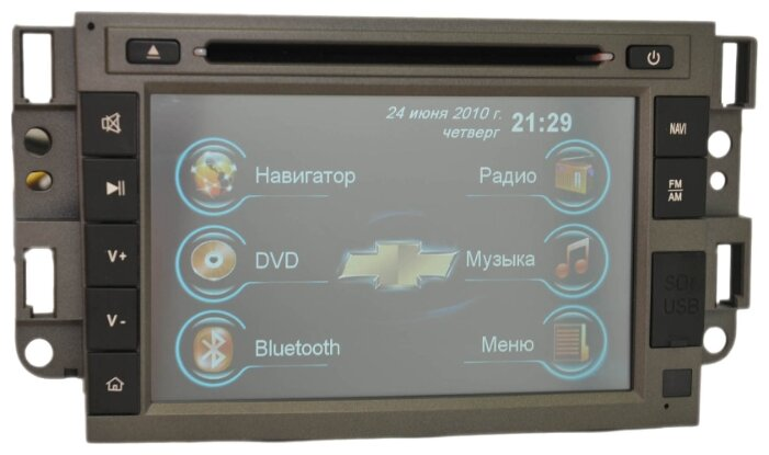 Автомагнитола MOTEVO Chevrolet Epica, Captiva, Aveo