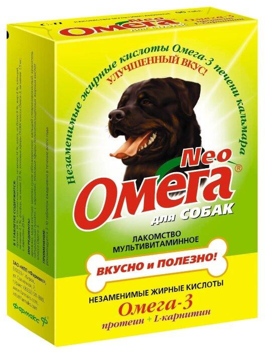 Лакомство для собак Омега Neo с протеином и L-карнитином