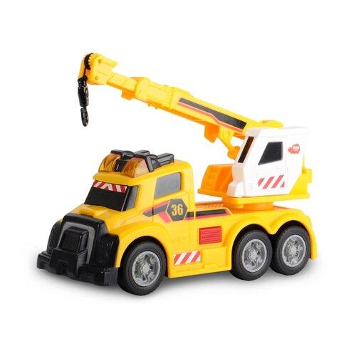 Купить Автокран Dickie Toys 3302006 15 см желтый, Машинки и техника