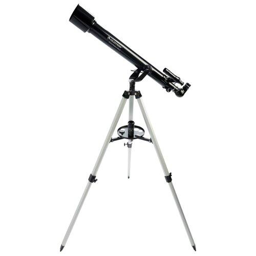 Фото - Телескоп Celestron PowerSeeker 60 AZ черный/серый телескоп celestron powerseeker 114 eq черный серый