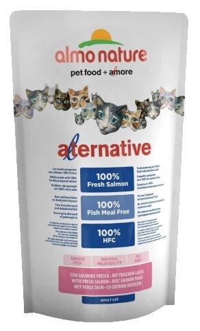 Корм для кошек Almo Nature Alternative Adult Cat 55% Salmon and Rice