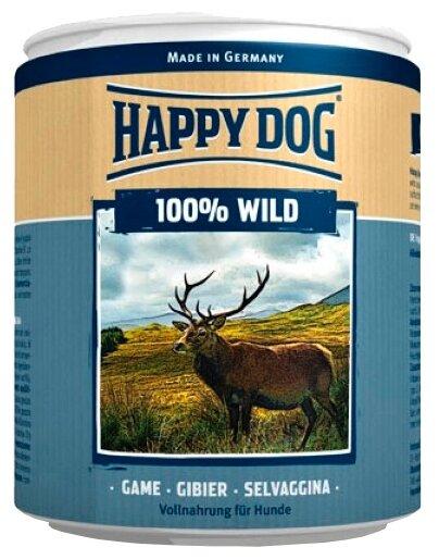 Корм для собак Happy Dog Фермерский продукт 100% Мясо Дичь