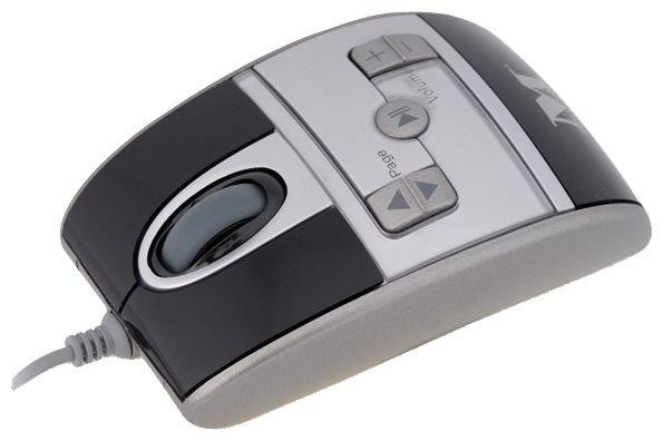 Мышь Modecom MC-319 Silver-Black USB
