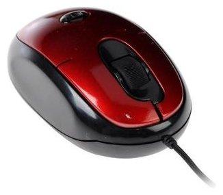 Мышь Jet.A OM-N8 Black-Red USB