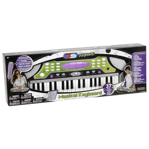 Синтезатор SS Music 77048 черный/белый