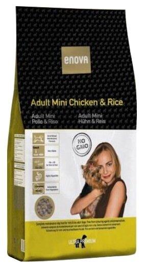 Корм для собак ENOVA Adult Chicken & Rice Mini сухой корм для собак