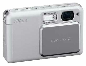 Nikon Coolpix S 02 белый