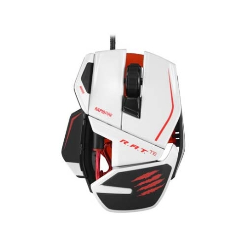 Мышь Mad Catz R.A.T. TE Gaming Mouse for PC and Mac White USB