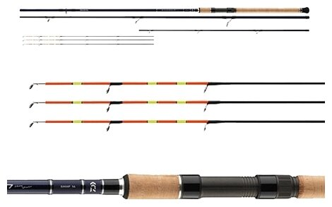 Удилище фидерное DAIWA SHOGUN HEAVY FEEDER (SHHF13-AD)