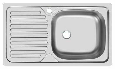 Врезная кухонная мойка UKINOX Classic CLM 760.435