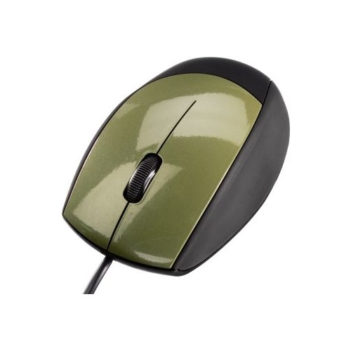 Мышь HAMA M366 Optical Mouse Black-Khaki USB