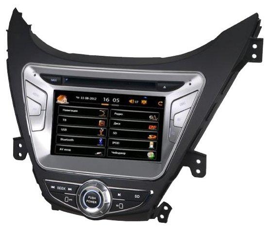 "Автомагнитола CarSys Windows CE Hyundai Elantra 8"""
