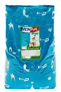MonAmi Сухой корм для кошек Курица (10 кг)
