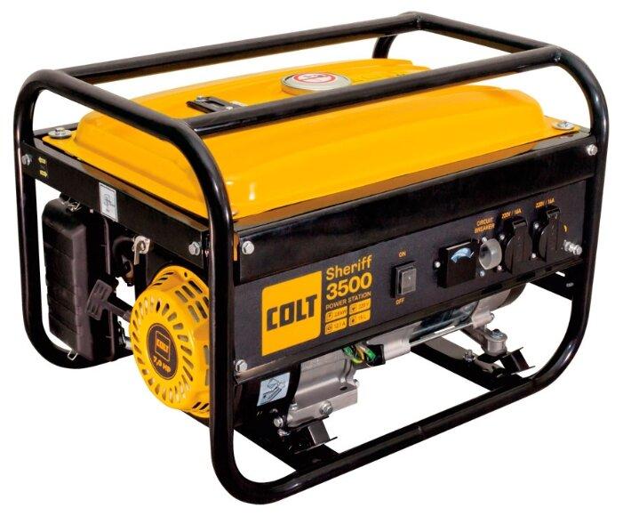 Бензиновый генератор COLT Sheriff 3500 (2600 Вт)