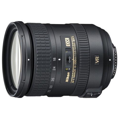 Фото - Объектив Nikon 18-200mm f/3.5-5.6G ED AF-S VR II DX Zoom-Nikkor объектив nikon 20mm f 1 8g ed